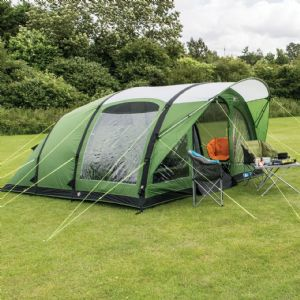 Kampa Brean 5 Air Tent 2019 (Inc Carpet + Footprint)